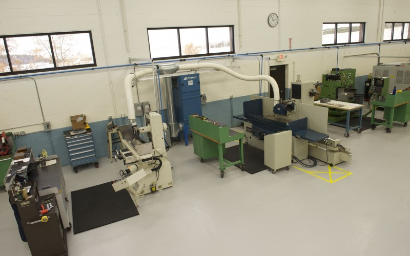 Marten Machining manufacturing facility and equipment