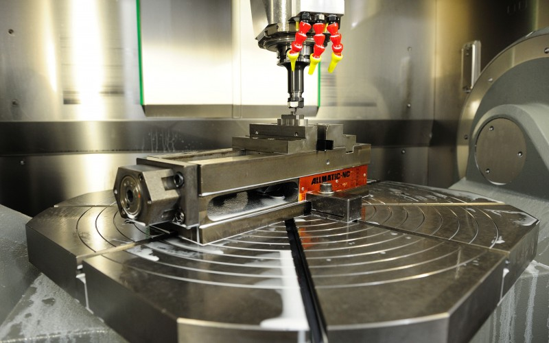 high precision machining to tolerances less than .0001""