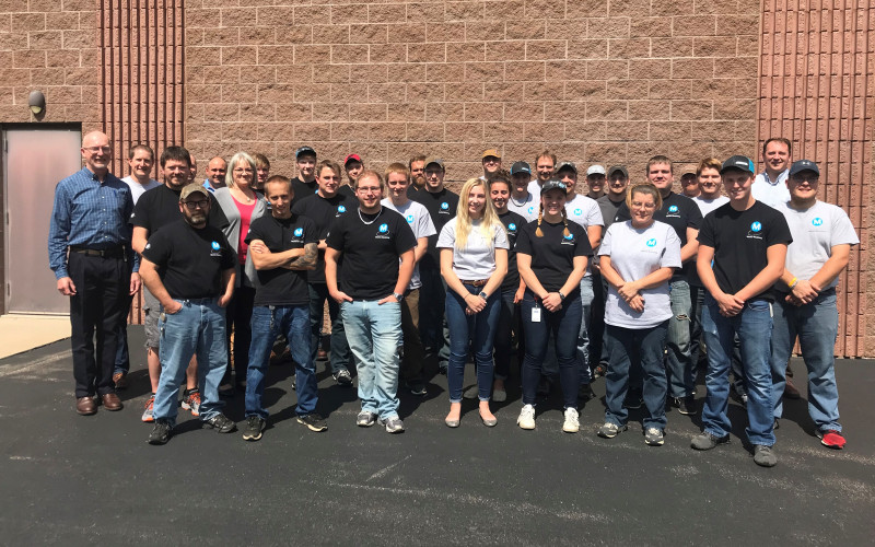 Marten Machining Manufacturing Team Photo
